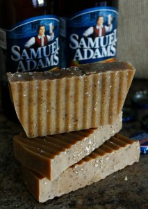 Beer Soap (with Frankincense and Myrh scent) made by Jhenna Conway and photographed by Casey Braden
