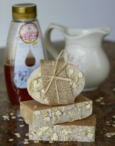 Oatmeal Goat's Milk and Honey Soap made by Jhenna Conway and photo by Casey Braden