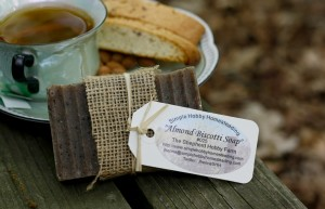 Almond Biscotti made by Casey Braden for eh Shepherd Hobby Farm and photographed by Casey Braden.