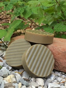 Poison Ivy Relief Soap: Made and photgraphed by Jhenna Conway of The Shepherd Hobby Farm