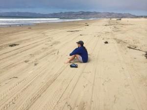 Chillin' on the beach in Oceano