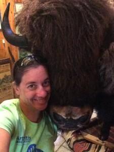 Me and my buffalo friend