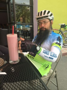 The smoothie!