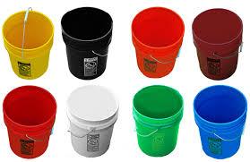 buckets! Pretty buckets!