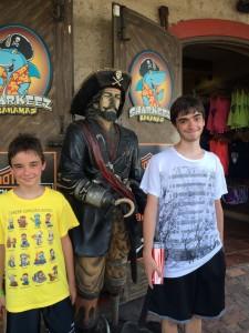 Mandatory Nassau pirate picture...