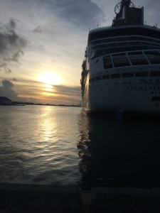 Our ship as we boarded her at the end of our Nassau fun